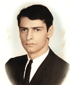 High-school graduation photo, 1960