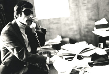 The author working in his office, c.1980s