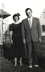 The author's parents, Geraldine and Bernard Vachss, c.1950s